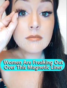 Eyebrow Makeup Tips, Skin Makeup, Makeup Tricks, Beauty Secrets, Beauty Hacks, Magnetic Lashes, Models Makeup, Tips Belleza, Eye Make Up
