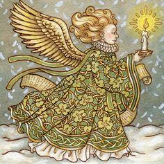 Irish Angel by AutumnAlchemy.deviantart.com on @deviantART