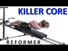 20mins Total Gym / Pilates Reformer Killer Core Workout 3 (by Ultimate Pilates) - YouTube