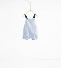 Image 1 of Striped romper suit from Zara