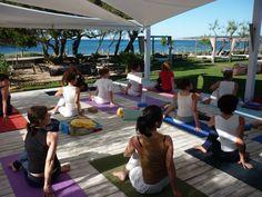 Der Gecko Beach Club ist ideal für #Yoga auf #Formentera. Viele Termine auch für andere #Yogaurlaube in Spanien gibt´s hier: yoga-on-holiday.com