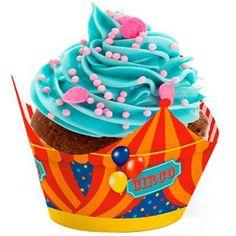 Cromus Circo - Forma para Cupcake 12 unidades