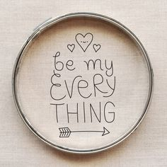 be my everything // free embroidery pattern // wild olive