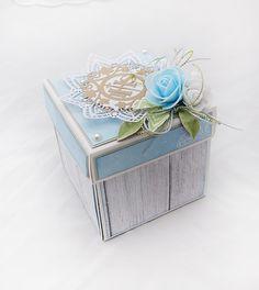Blog Craft Passion: Communion box/ Pudełko komunijne