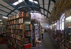 La librairie Barter Books dans l'ancienne gare d'Alnwick en Angleterre.