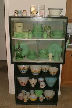 jadite and pyrex collection