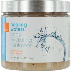 Healing Waters Sugar-salt Scrub - Exfoliating Treatment 22 Oz By Aromafloria
