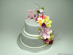 30th birthday cake delivered in London UK http://www.pinkcakeland.co.uk #30 #birthday #cakes #woman #women #london