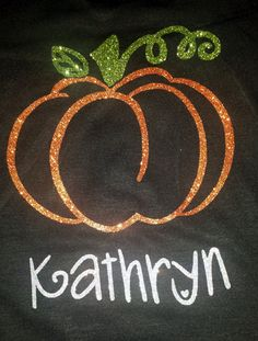Custom Kid's Pumpkin Shirts - Starting at just $17!
