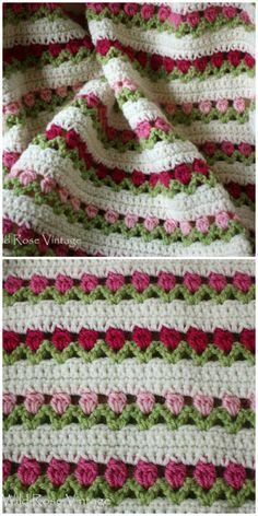 You will love this Crochet Tulip Stitch Video and it's one of several fabulous ideas that you won't want to miss. Check them all out now. ideas for beginners blanket Crochet Afghans, Crochet Ripple, Crochet Bunny, Crochet Stitches Patterns, Baby Blanket Crochet, Easy Crochet, Crochet Flowers, Free Crochet, Knitting Patterns