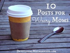 ~10 Posts for Weary Moms~ Are you a mom who is weary and in need of some encouragement? Are you at a place in your life where you need to KNOW and FEEL something different than what you're currently experiencing? Here are ten posts I wrote for the Hope for the New Year book Club I hosted over at Hope for the Weary Mom.