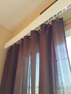 How To Hang Curtains Without A Rod If You Re Looking For A Unique Way To Hang