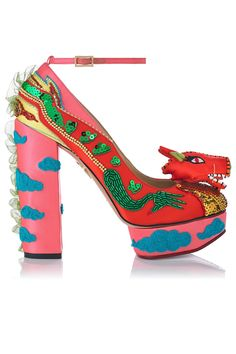 Charlotte Olympia shoes. Because to me fashion is about asking the question 'why not?'