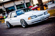 Notchback Mustang, Fox Body Mustang, Mustangs, Nice Body, Super Cars, Automobile, Ford, Tools, Vehicles