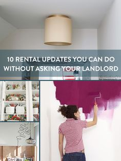 You Can Do It: 10 Rental Updates Your Landlord Doesn't Need to Know About » Curbly | DIY Design & Decor