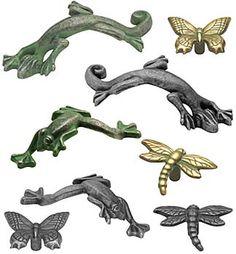 Lizards, frogs, dragonflies!