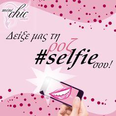 Ψήφισε τη  ροζ #selfie μου στο διαγωνισμό του Mini Chic για να με βοηθήσεις να κερδίσω και κερνάω Mini Chic!