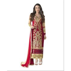 Buy Vraj Fashion Krishma Gold salvar suit by vraj fashion, on Paytm, Price: Rs.980