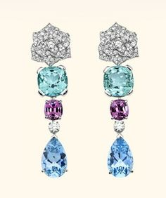 Limelight Garden Party earrings - Piaget Rose