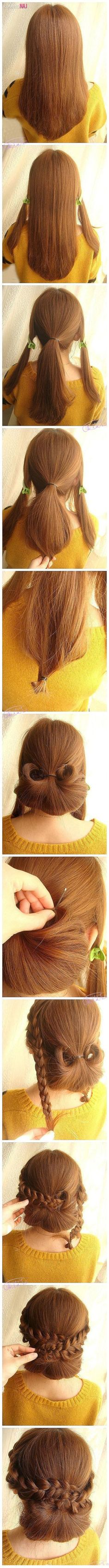 best hair images on pinterest hair makeup tuto coiffure and