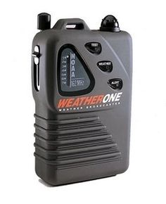 NOAA Weather and Emergency Radio by Weather One. $22.95. Protect your home and family. Don't be caught unaware when severe weather strikes. A weather alert can save your life. WeatherOne Emergency Radio provides 24-hour, instant weather updates direct from the National Weather Service. The NWS broadcasts are comprehensive and tailored to the safety needs in your local area. Receives all 7 NOAA stations available.  And, when set in ''stand-by'' mode the radio automatically a...