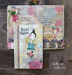 Kelly Rae Roberts Gift Book-Soul Sister