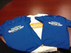 Fantastic event shirts for all participants!