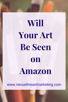 Will Your Art Be Seen on Amazon? Are you thinking about selling art on Amazon? Find out how easy it is for a collector to search for original art. Oil Painting Techniques, Art Techniques, Learn Arabic Online, Creative Business, Business Tips, Craft Business, Online Business, Selling Art Online, Online Art