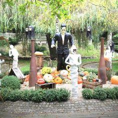 Halloween et Franck Einstein chez Nigloland