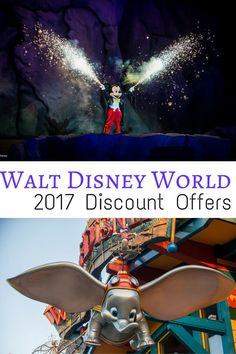 Walt Disney World Discounts–Spring & Summer 2017 now available