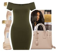 """""""""""Knock it off bih.."""" -Queen Key"""" by royaltyvoka ❤ liked on Polyvore featuring NARS Cosmetics, Dogeared, Sara Happ, Steve Madden and Yves Saint Laurent"""