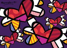 Arts visuels inspirés de Romero Britto - Véro à l'école
