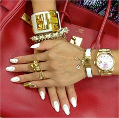 """""""Friends don't let friends leave the house without accessories."""""""