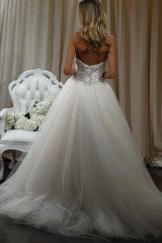 SS16 BADGLEY MISCHKA #dress #wedding #bride #weddingdream123