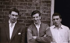 Ronnie Kray, Leslie Burman and Reggie in Bethnal Green.Described as the most dangerous men in Britain, the Krays were never shy about posing for the cameras. East End London, Old London, The Krays, Mafia Gangster, Unseen Images, Twin Photos, Life Of Crime, Bethnal Green, Pose For The Camera