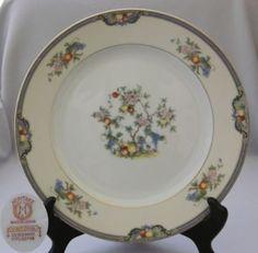 Old German China Patterns | Details about Dinner Plate Vintage Noritake China Vintonia Pattern