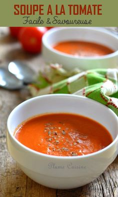 Tomato soup - This delicious tomato soup recipe is of course super easy to prepare. This tomato soup is indeed sl - Broccoli Soup Recipes, Cream Of Broccoli Soup, Crockpot Steak Recipes, Meat Recipes, Healthy Soup, Healthy Dinner Recipes, Crockpot Recipes Mexican, Roasted Butternut Squash Soup, Mothers Day Brunch