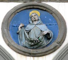 "Ceramica from Andrea della Robbia chuch ""Santa Maria Novella"" in Florence  #TuscanyAgriturismoGiratola"