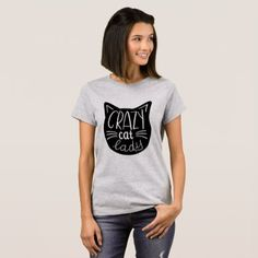 Crazy Cat Lady Shirt - cat cats kitten kitty pet love pussy