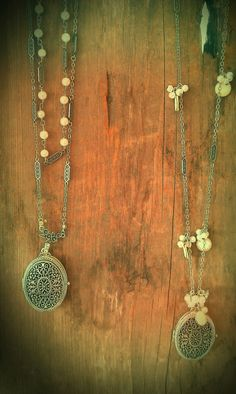 Ornate lockets