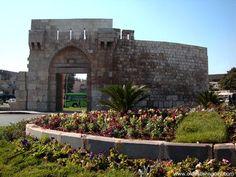 "5. Bab Tuma (Arabic: باب توما, meaning: ""Thomas's Gate"") one of seven gates inside the historical walls, Old City Damascus, SYRIA"