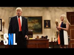 Donald Trump Prepares Cabinet: an outstanding performance by Alec Baldwin and Kate McKinnon!!!