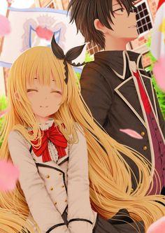 Kishuku gakkou no Juliet by kirimatsu on DeviantArt Chica Anime Manga, Manga Girl, Anime Art, Anime Love Couple, Cute Anime Couples, Romeo And Juliet Anime, Nisekoi, Another Anime, Ecchi
