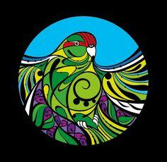 Check out the deal on Kakariki by Shane Hansen at New Zealand Fine Prints Polynesian Art, New Zealand Art, Jr Art, Black Love Art, Maori Art, Fence Art, Teaching Art, Teaching Ideas, Bird Prints