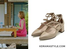 Yoon So Ah (Shin Se Kyung 신세경) wears strappy beige pumps with chunky heels in Episode 16 of Bride of the Water God. They are the Jinny Kim Arvid JLMP010 Pumps. Get them HERE for 251,710₩. Available from: Auction – 251,710₩   See more of Yoon...