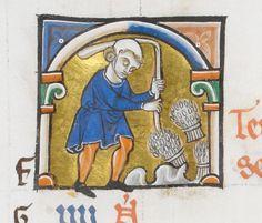 13th-century calendars for September (BL Add. 54179, 50000 & 62925)