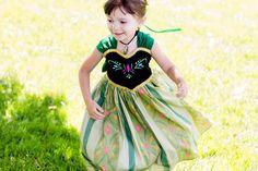 Princess Anna Coronation Dress - Frozen Princess Anna Costume - Princess Anna Dress - Frozen Costume - Disney dress girls 1 2 3 4 5 6 7 8 by ChloeMichellesCloset on Etsy https://www.etsy.com/listing/192880859/princess-anna-coronation-dress-frozen
