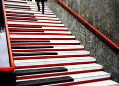 Piano Stairs - Sreet Art Utopia.. If I ever have stairs in my house, they WILL look like these!!!
