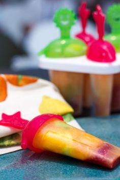 ghiaccioli con estratto di frutta