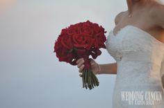 #red roses #bridal #bouquet #weddingcancun by #latinasia www.weddingcancun.mx